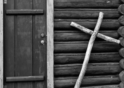 Door & Cross